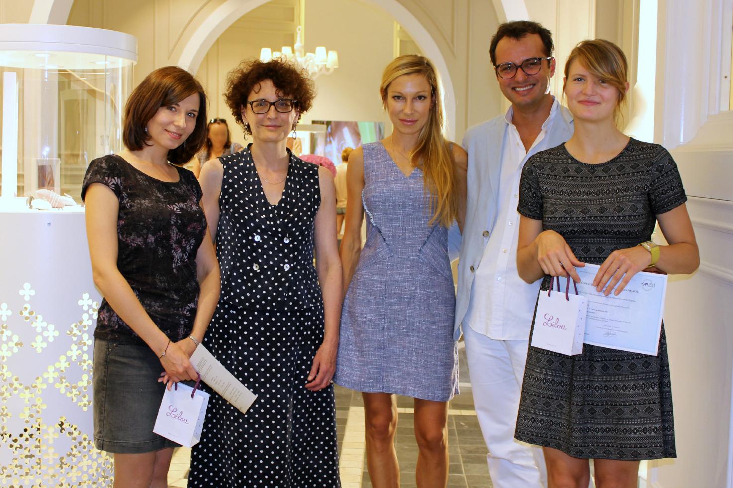 Remise des prix Lilou 2015 à deux étudiantes de l'IFP