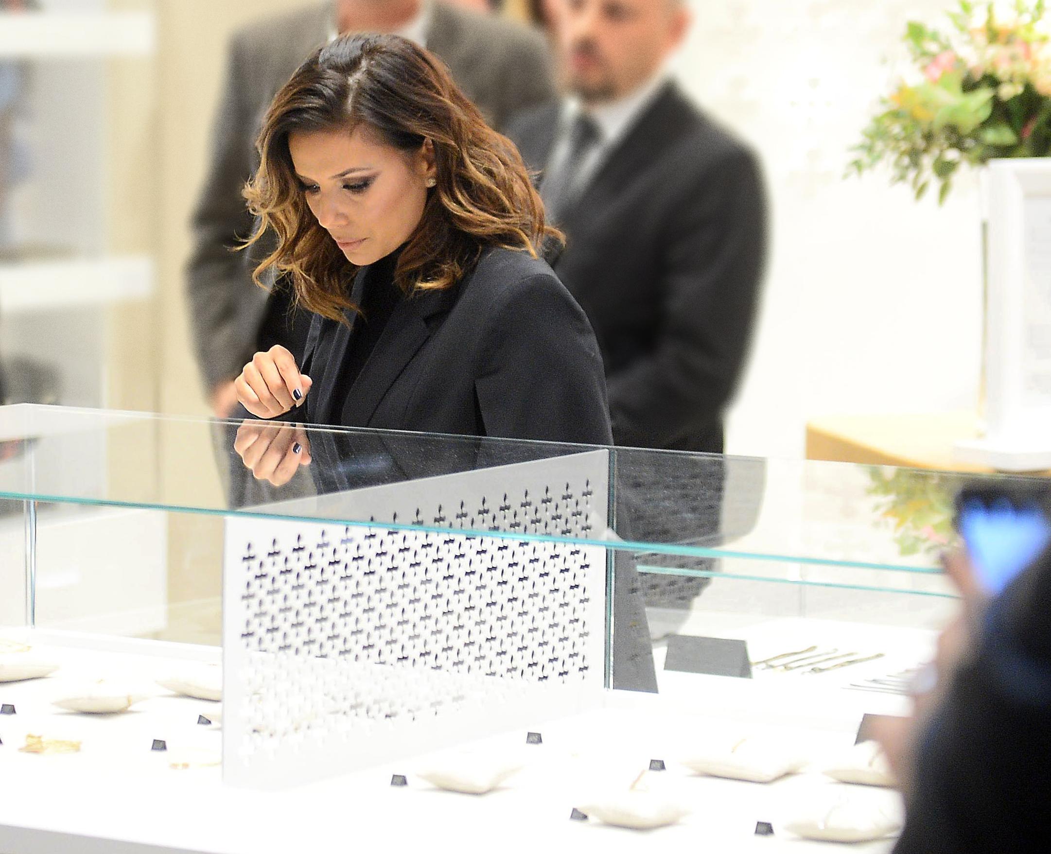 Eva Longoria a adoré le bracelet Caroline